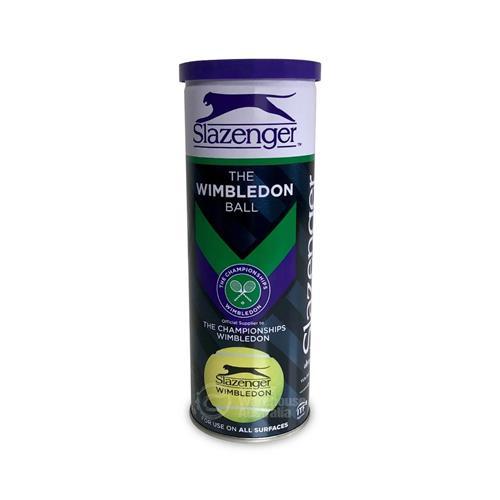 Slazenger Wimbledon 3 Ball Can