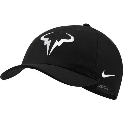 Nike Rafa AEROBILL H86 Cap (Black/White)