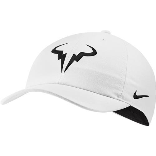 Nike Rafa AEROBILL H86 Cap (White/Black)