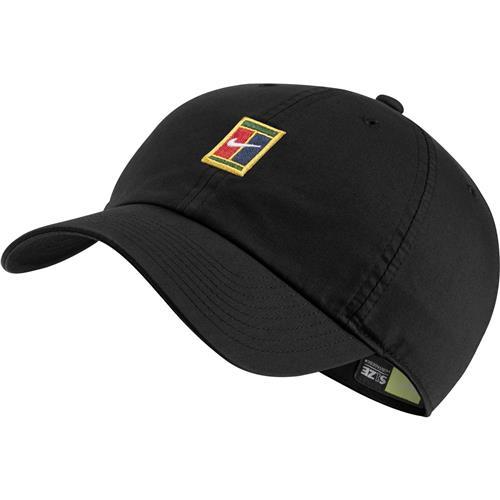 Nike  Court Heritage 86 Logo Tennis Cap (Black)