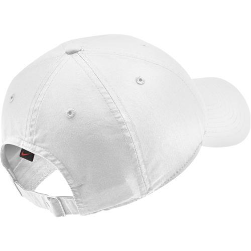 Nike  Court Heritage 86 Logo Tennis Cap (White)