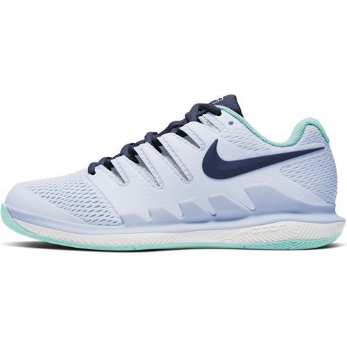 Nike Air Zoom Vapor X HC Womens Shoe (Grey/Blue)