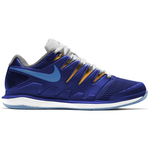 Nike Air Zoom Vapor X HC Mens Shoe (Blue/White)