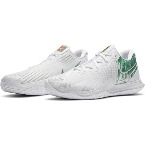 Nike Air Zoom Vapor Cage 4 HC Mens Shoe (White/White)