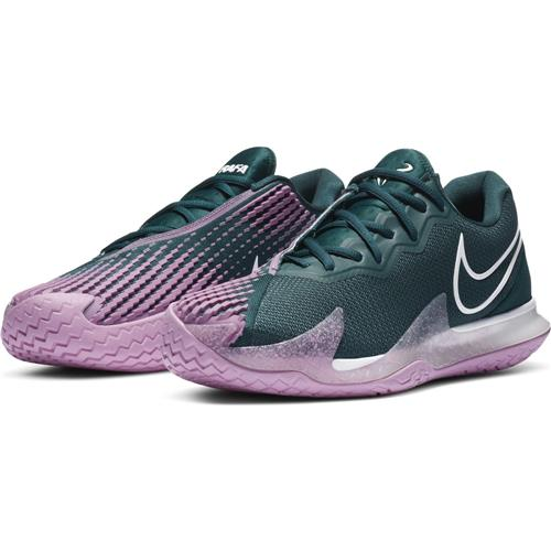 Nike Air Zoom Vapor Cage 4 HC Mens Shoe (Teal/White)
