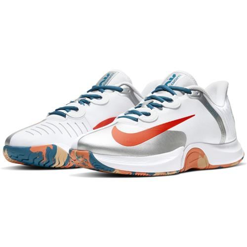 Nike Air Zoom GP Turbo HC Mens Shoe (White/Orange/Green Abyss)