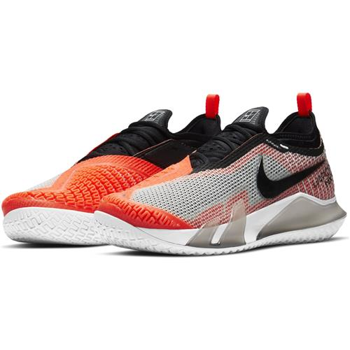 Nike React Vapor NXT HC Mens Shoe (Black/White/Bright Orange)