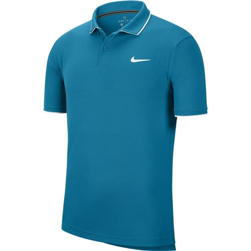 Nike NKCT Dry-Fit Mens Polo Team (Teal)