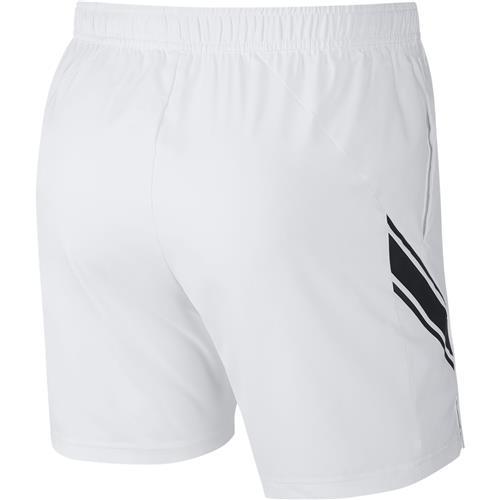 Nike Court Dry Short 7in (White/Black)
