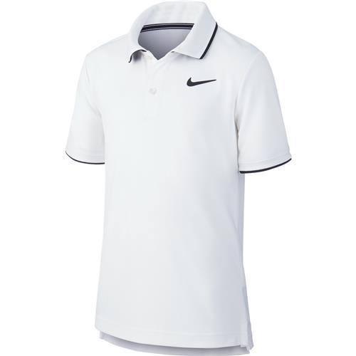 Nike Boys Dry Polo Team (White)