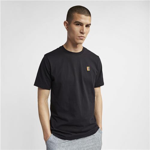 Nike Court Emblem Tee (Black)