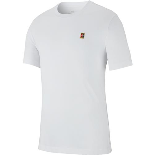 Nike Court Emblem Tee (White)
