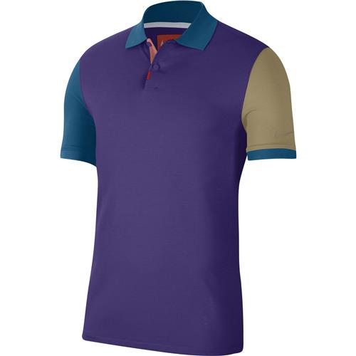 Nike Mens OZ Slim Polo Melbourne (Purple)