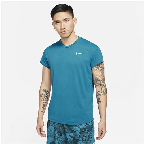 Nike Court Mens Breathe Slam Top (Teal)