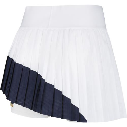 Nike Womens Slam Skirt Melbourne (White/Obsidian)