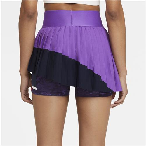 Nike Womens Slam Skirt Melbourne (Wild Berry/Obsidian/White)