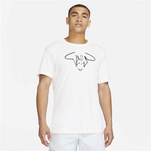Nike Court Mens Rafa Vamos Tee (White)