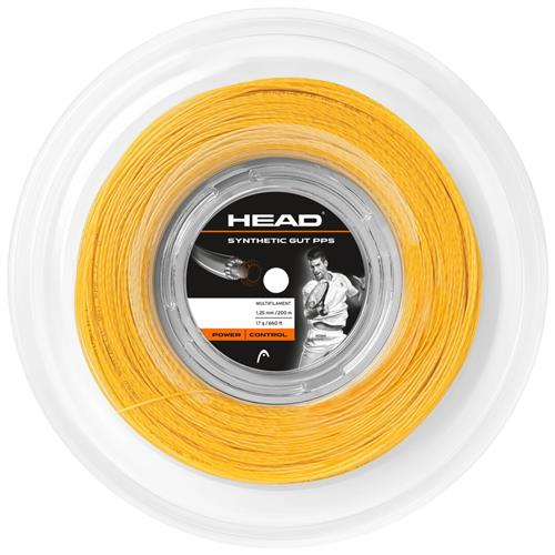 Head PPS 16 Synthetic Gut (Gold) 200m Reel