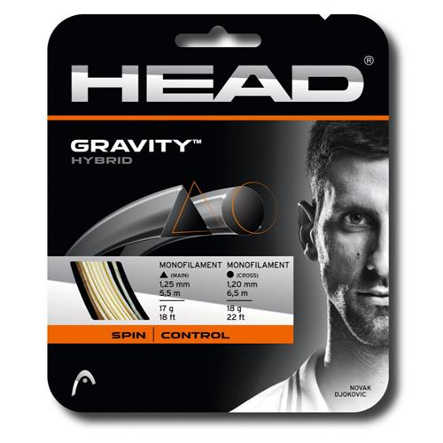 Head Gravity Hybrid 125/17 & 120/18 String Set
