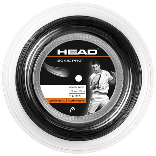 Head Sonic Pro 125/17 200m Reel (Black)
