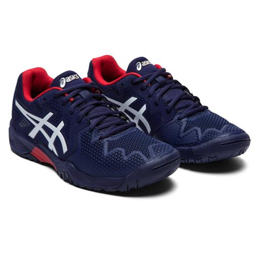 Asics Gel-Resolution 8 GS Kids Shoe (Peacoat/Red)