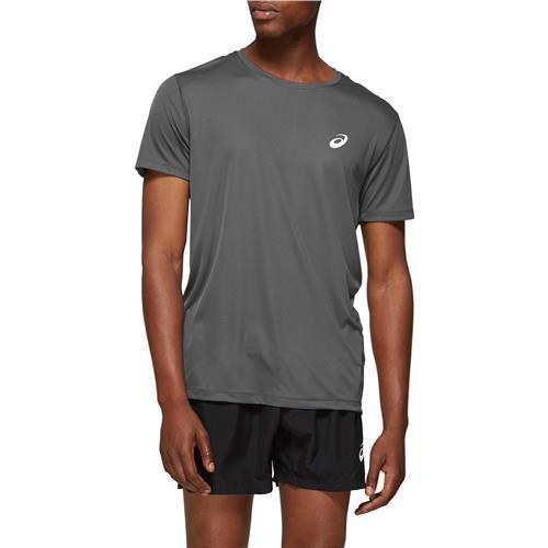 Asics Mens Short Sleeved Top (Dark Grey)