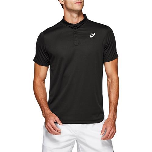 Asics Mens Performance Club Polo-Shirt (Black)