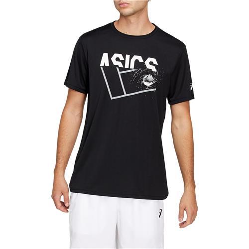 Asics Mens Practice GPX Tee (Black)