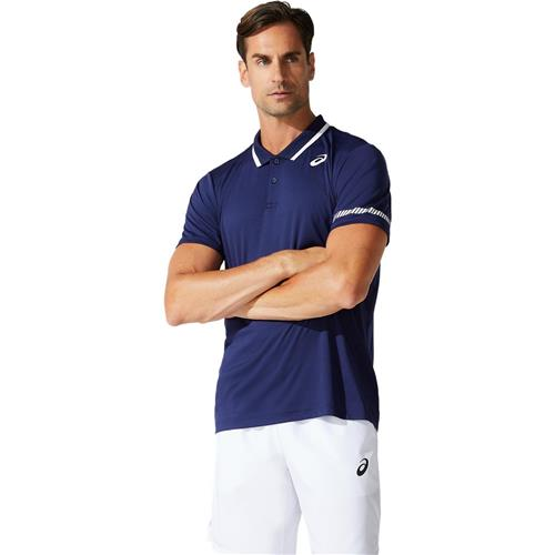 Asics Mens Court Polo Shirt (Peacoat)