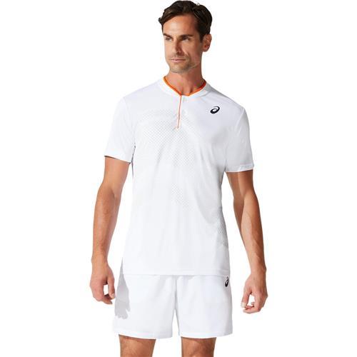 Asics Mens Court M GPX Polo (Brilliant White)