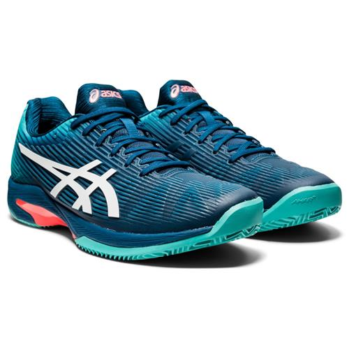 Asics Solution Speed FF Clay Mens Shoe (Blue/White)