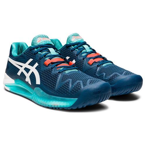 Asics Gel-Resolution 8 Mens Shoe (Blue/White)