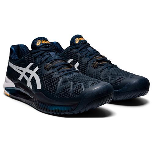 Asics Gel-Resolution 8 Mens Shoe (French Blue/White)