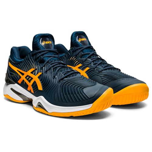 Asics Court FF 2 Mens Shoe (French Blue/Amber)