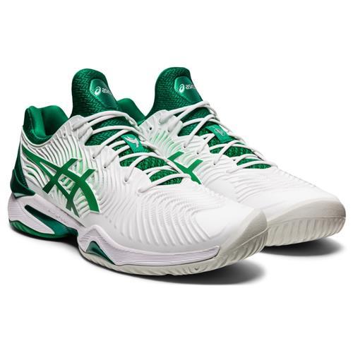 Asics Court FF Novak Mens Shoe (White/Kale)