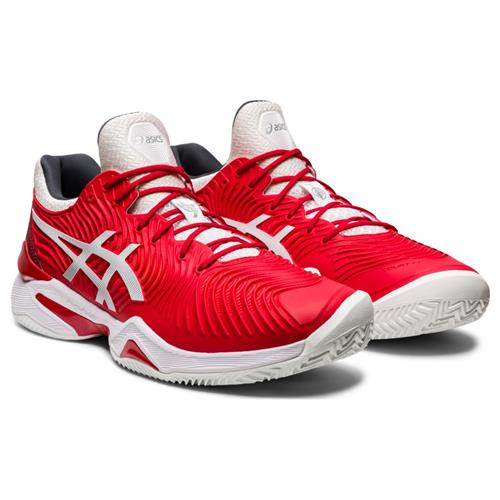 Asics Court FF Novak Clay Mens Shoe (Red/White)