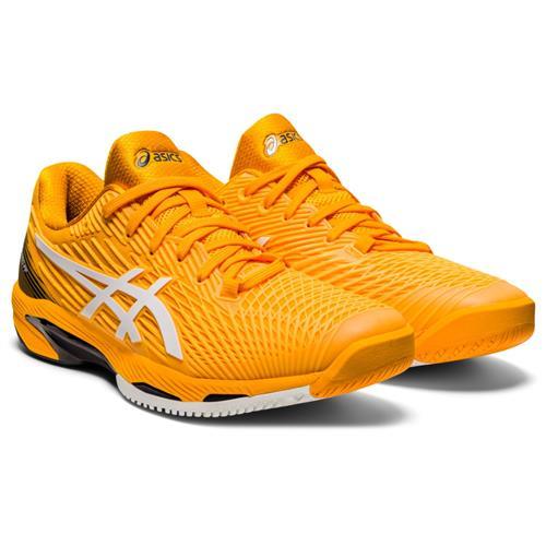 Asics Solution Speed FF 2 Mens Shoe (Amber/White)