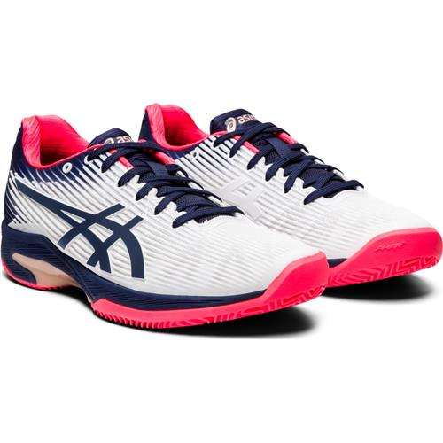 Asics Solution Speed FF Clay Womens Shoe (White/Peacoat)