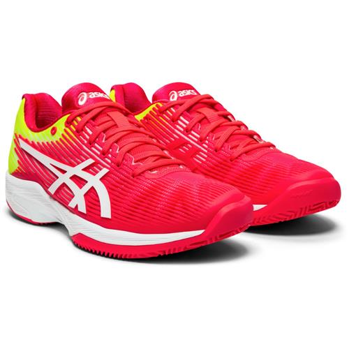 Asics Solution Speed FF Clay Womens Shoe ( Lazer Pink/White)