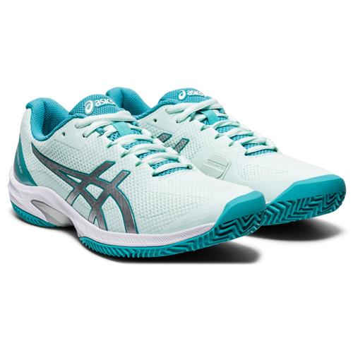 Asics Court Speed FF Clay Womens Shoe (Mint/Silver)
