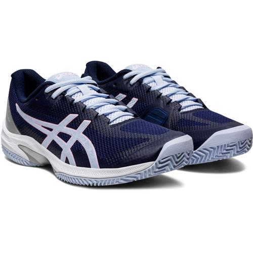 Asics Court Speed FF Clay Womens Shoe (Peacoat/Sky)