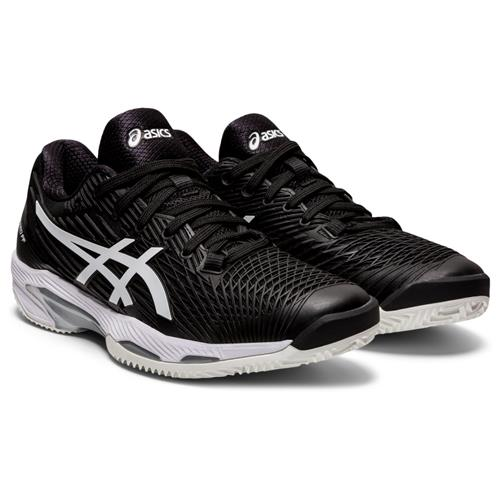 Asics Solution Speed FF 2 Clay Womens Shoe (Black/White)