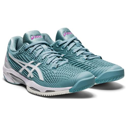 Asics Solution Speed FF 2 Womens Shoe (Smoke Blue/White)