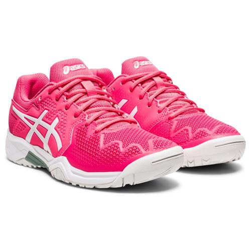Asics Gel-Resolution GS 8 Kids Shoe (Pink Cameo/White)