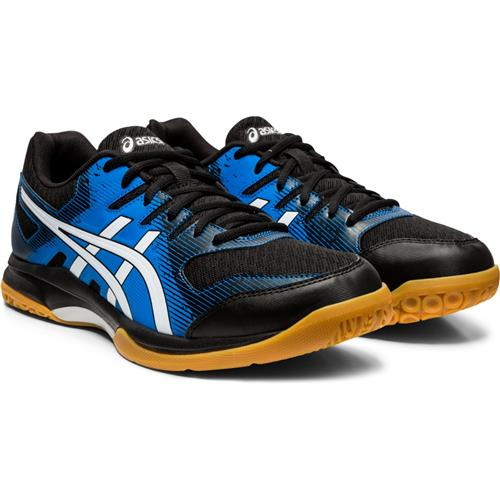 Asics Gel-Rocket 9 Mens Shoe (Black/Blue)