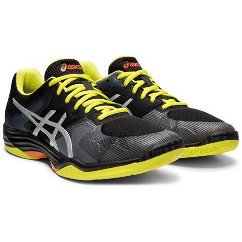 Asics Gel Tactic Mens Shoe (Black/Silver)