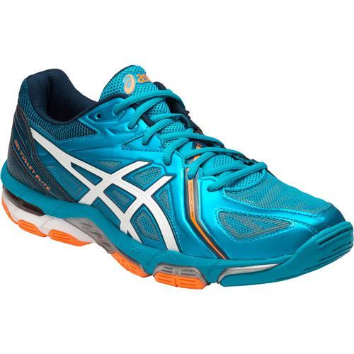 Asics Gel-Volley Elite 3 Mens Shoe (Blue/White/Orange)