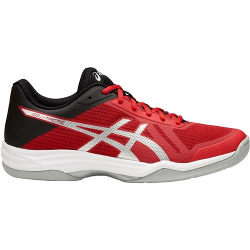 Asics Gel-Tactic Mens Volleyball Shoe (Red/Silver/Black)