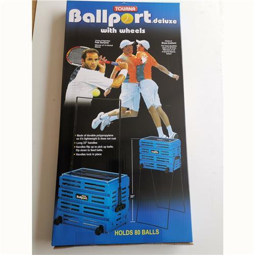 Tourna Ballport With Wheels 80 Balls (Blue)
