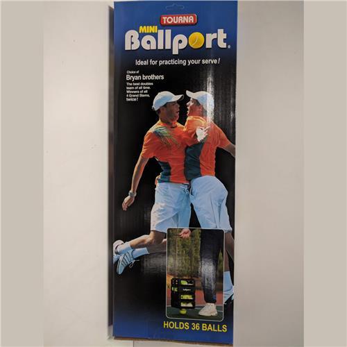 Tourna Mini Ballport 36 Balls (Black)